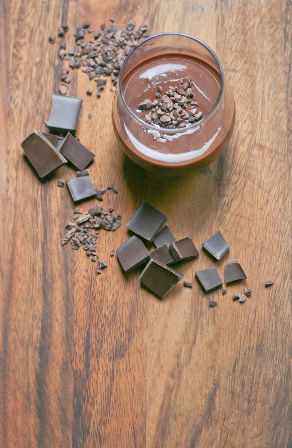 Chocolate custards